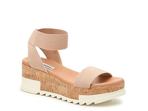 48ef3fdb69c Women Elba Wedge Sandal -Black in 2019 | Products | Shoes, Beige ...
