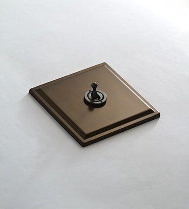 Classical Bronze Light Switch 124ll Luxemburgo Oficinas