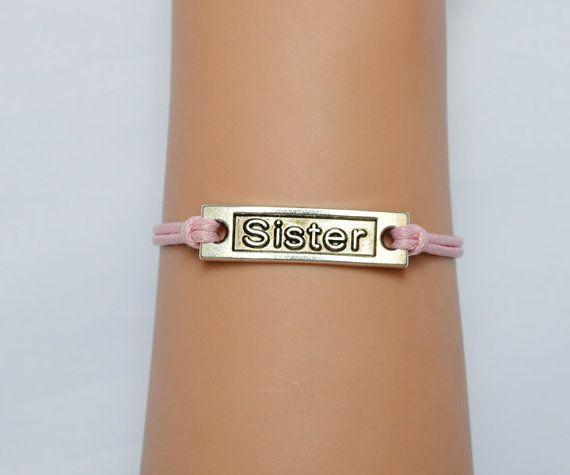 Sisters bracelet, friendship bracelets, women bracelet, wedding bracelets, adjustable bracelet, wedding gift by jl168jlpc