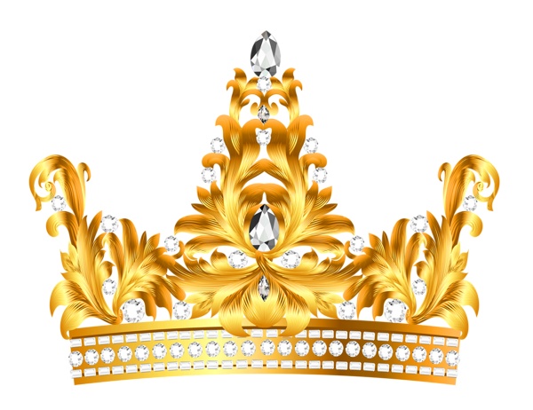 Gold And Diamonds Crown Png Clipart Crown Clip Art Crown Png Crown Art