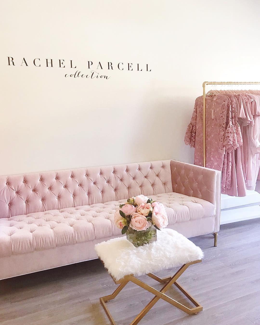 This sofa!!! 😍 Bridal boutique interior, Boutique