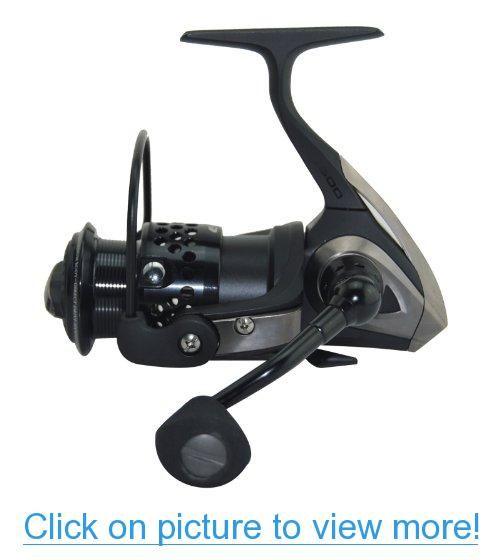Ecooda® Black Hawk Spinning Reel Metal Body$Ultra Light Weight