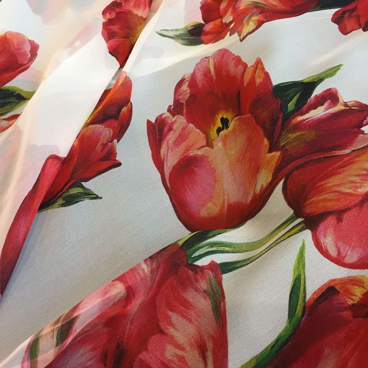 Exquisite Designer Silk Chiffon At Britex Fabrics In San Francisco