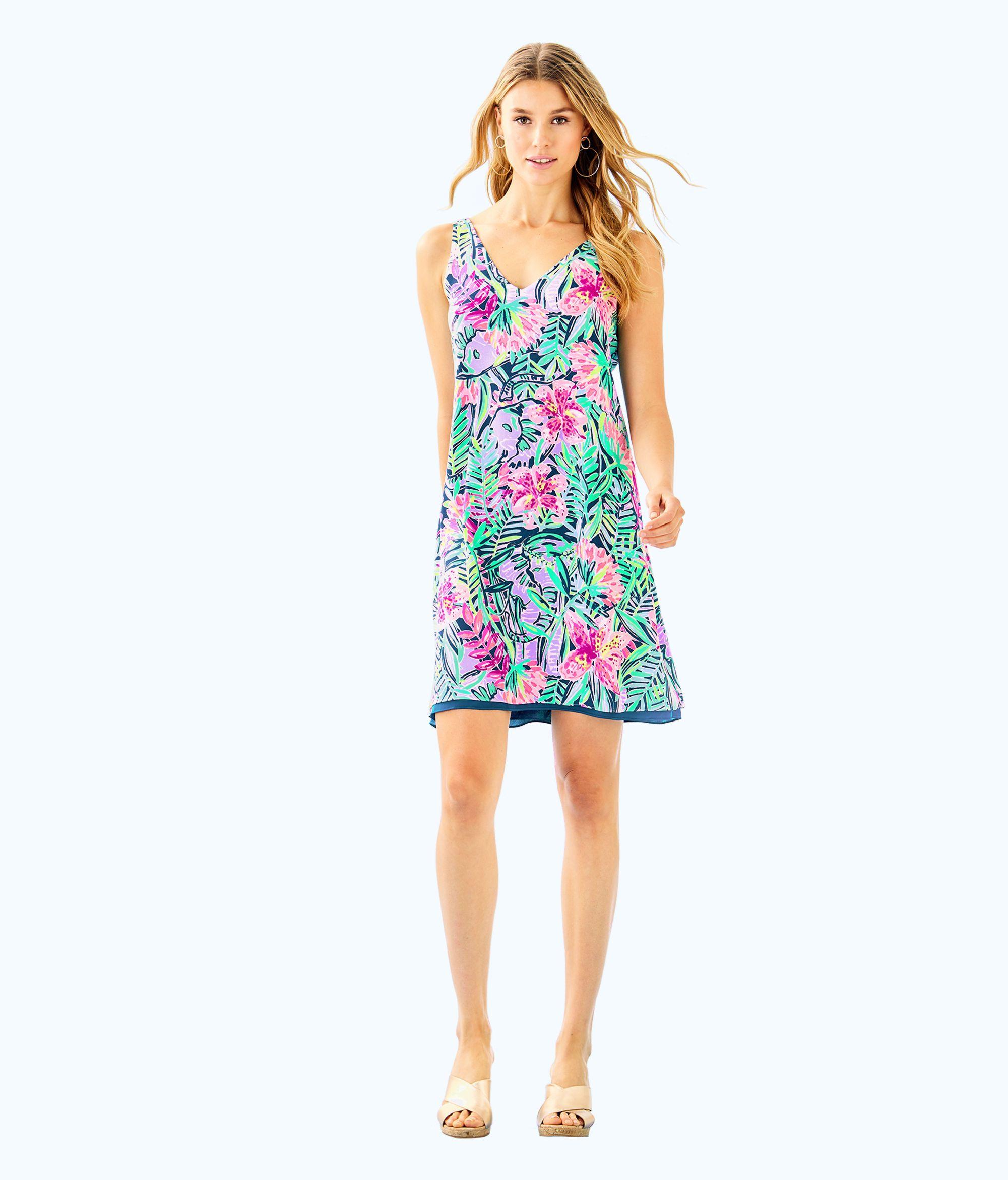 d614474f52bd3 Florin Reversible Sleeveless V-Neck Dress