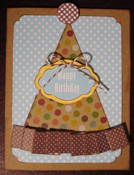 party hat card