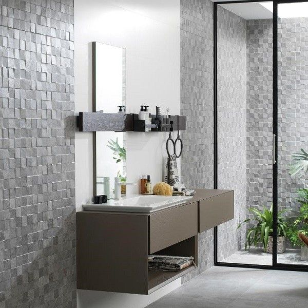 porcelanosa mosaico rodano caliza salle de bain. Black Bedroom Furniture Sets. Home Design Ideas