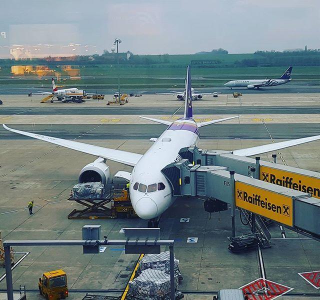 Auf nach Bangkok mit dem modernen Dreamliner von Thai