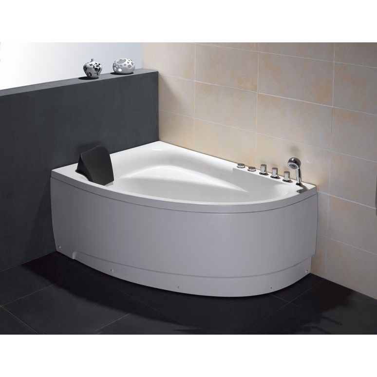 EAGO AM161-R White Acrylic 5-foot Whirlpool Bath Tub | Bath tubs ...