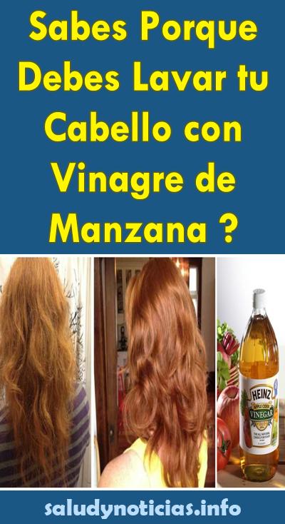 Sabes Porque Debes Lavar Tu Cabello Con Vinagre De Manzana Salud Noticias Manzanilla Para El Cabello Enjuague Para El Cabello Vinagre De Manzana