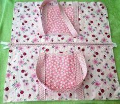 Mini bolso de mano de tela DIY – Alaskacrochet.com