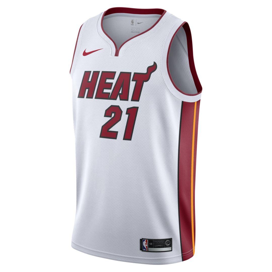 9b8f4ba6b Hassan Whiteside Association Edition Swingman (Miami Heat) Men s Nike NBA  Connected Jersey Size