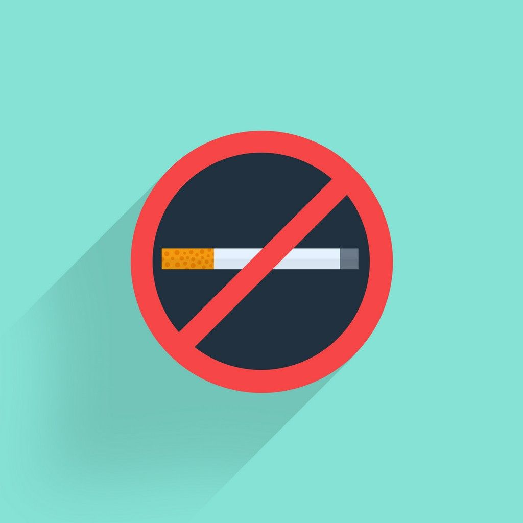 No smoking icon free old links design flat design - No smoking wallpaper download ...