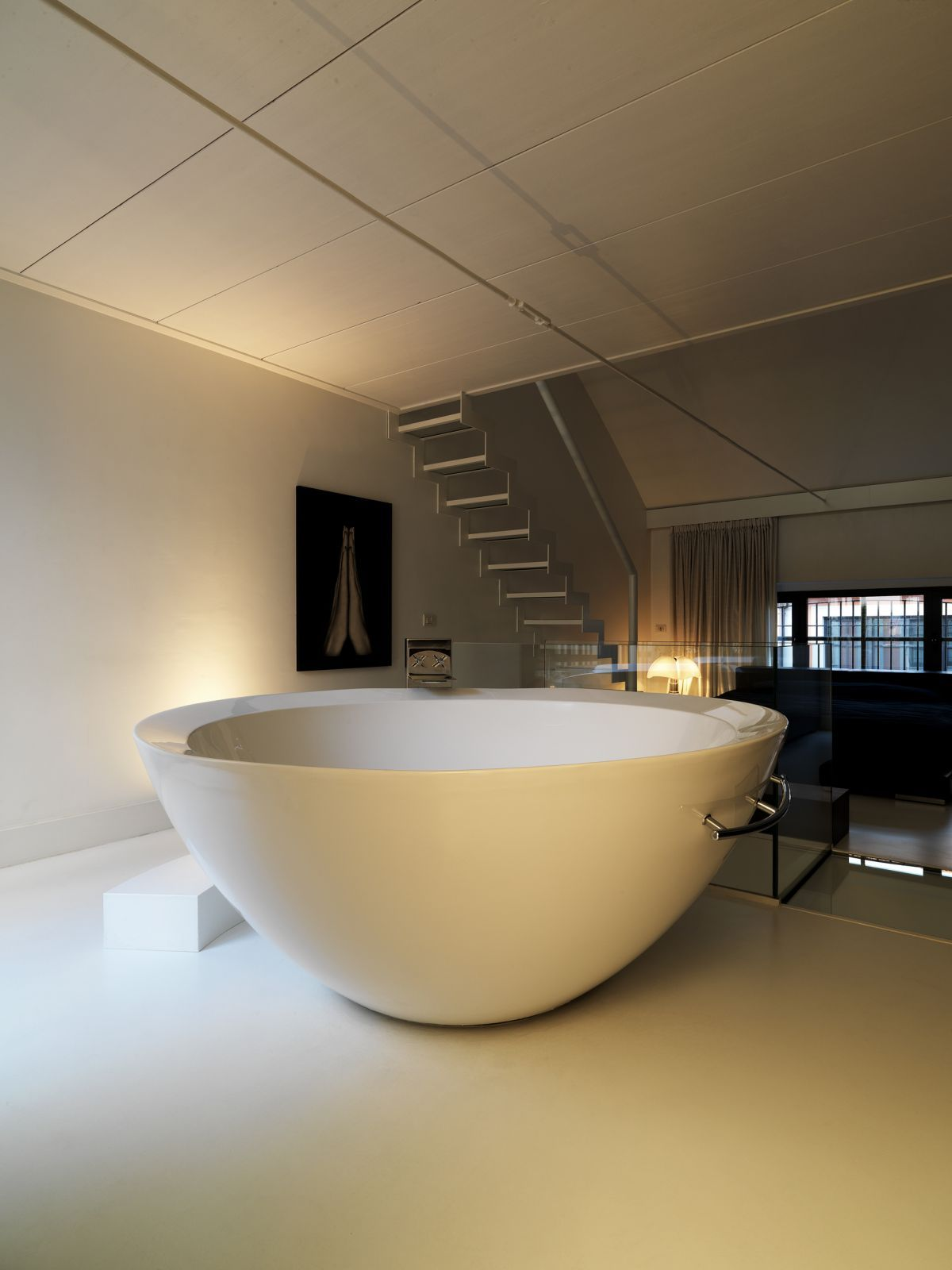 modern minimalist bathtub design bowl shape | bath&spa | pinterest