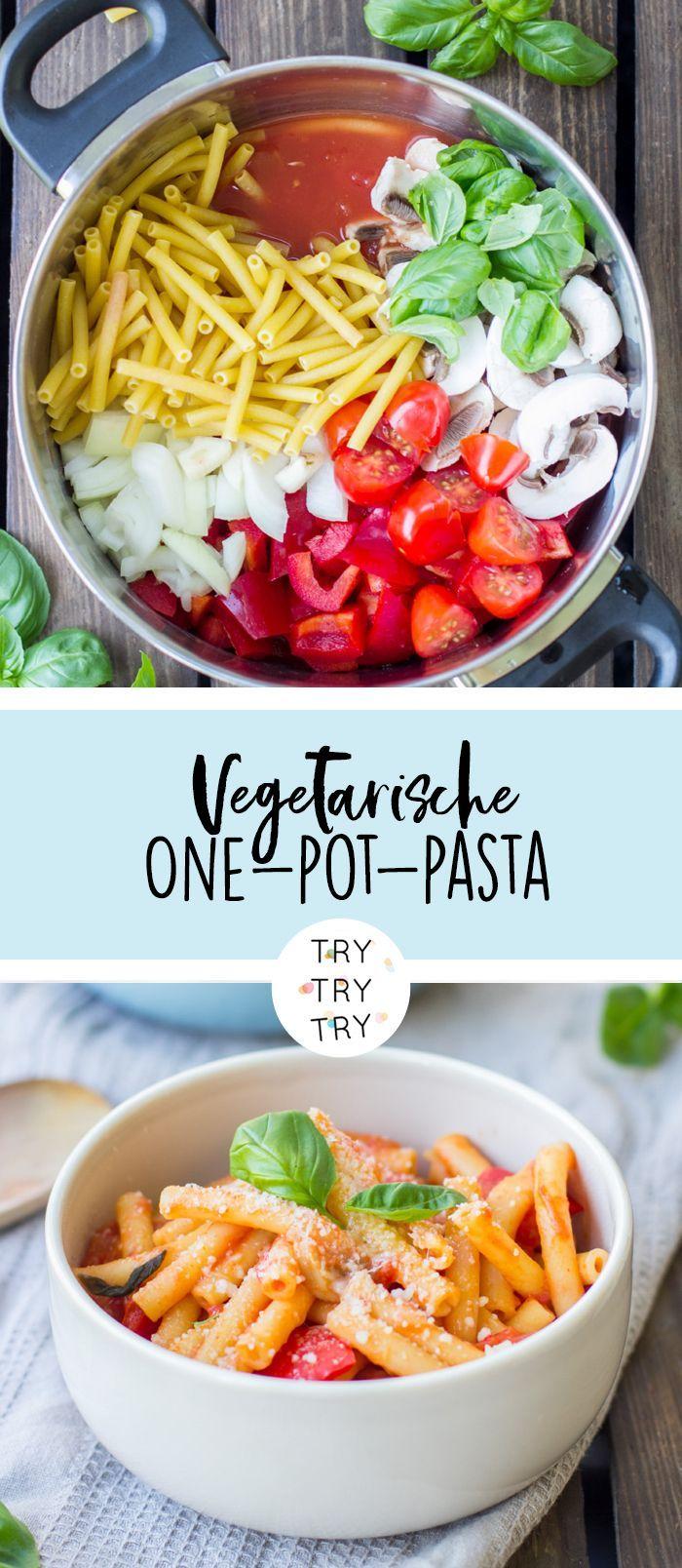 Photo of Vegetarische One-Pot-Pasta – New Ideas