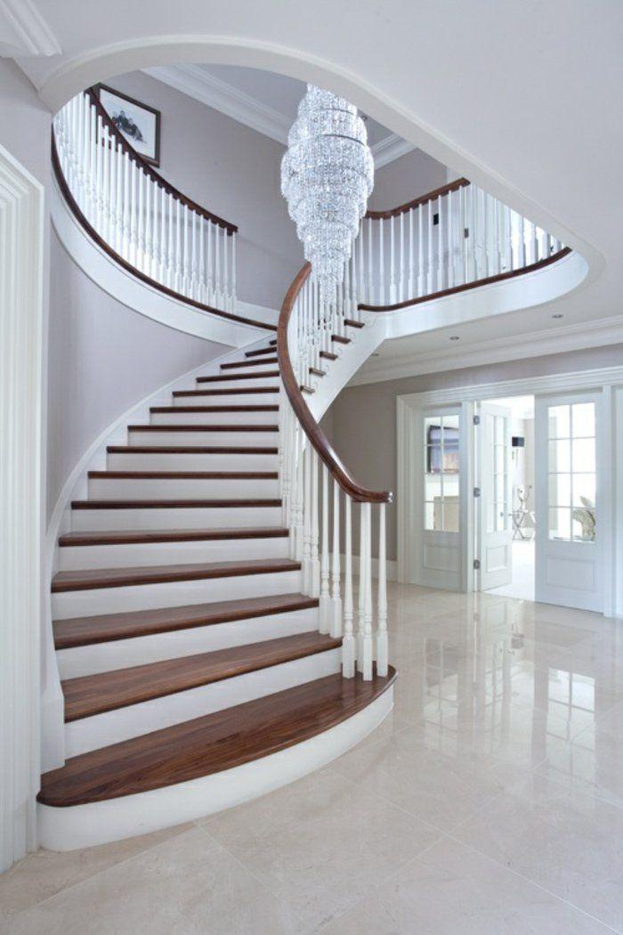 l 39 escalier tournant en 40 jolies photos escaliers pinterest escaliers maison escalier. Black Bedroom Furniture Sets. Home Design Ideas