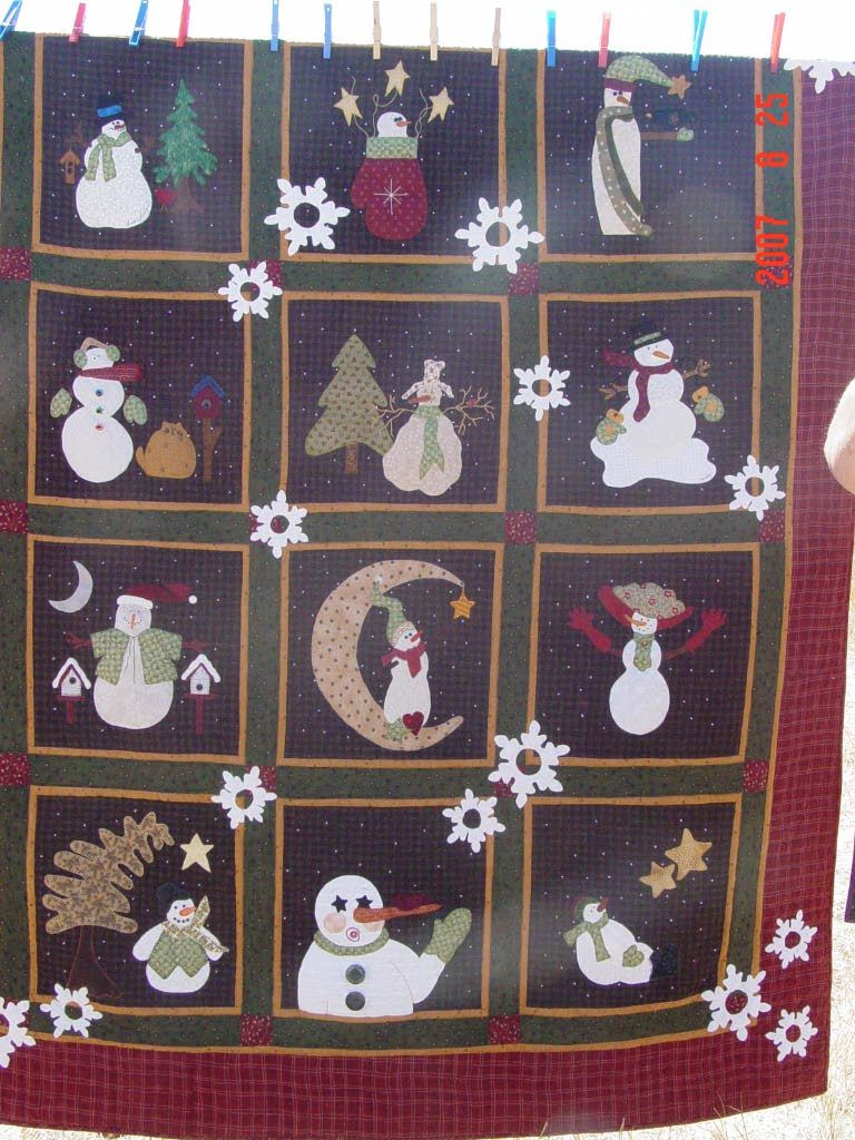 Fun Group Quilt That Is Being Shown At The Buggy Barn