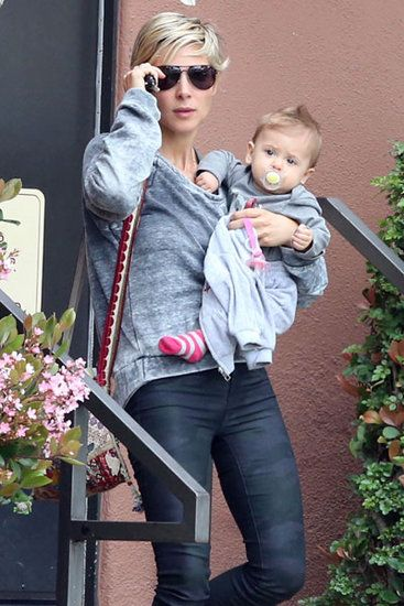 LA Ladies: Elsa Pataky and her daughter India Hemsworth headed out in LA on Tuesday.