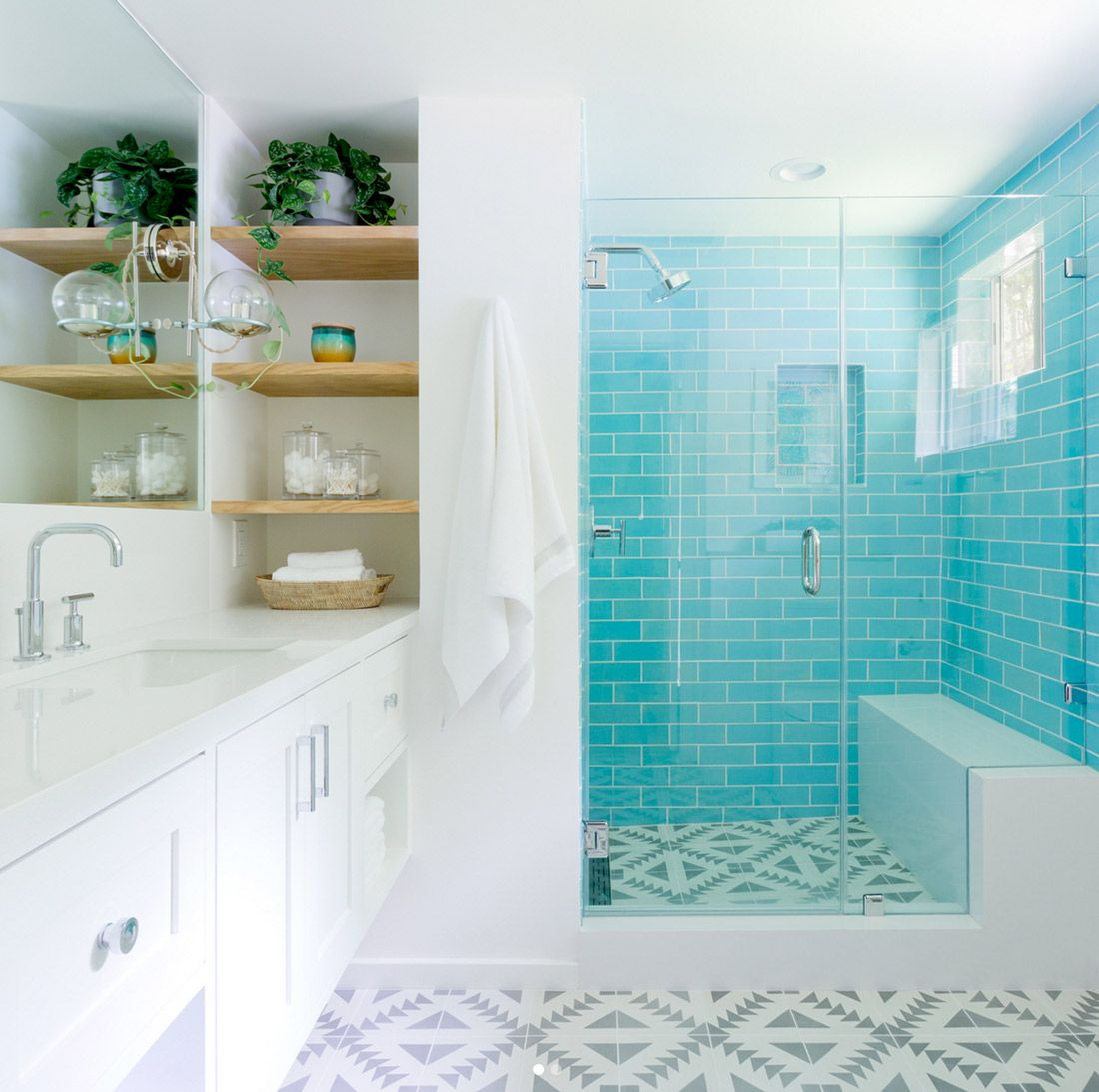 5 examples of color personality with handmade tile 3x8 12w blue 5 examples of color personality with handmade tile 3x8 12w blue bell dailygadgetfo Images