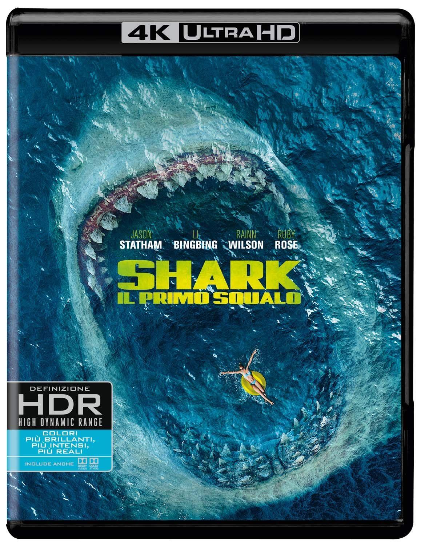 Shark - Il Primo Squalo (4K Ultra HD Blu Ray) #Primo, #Squalo, #Shark, #Il