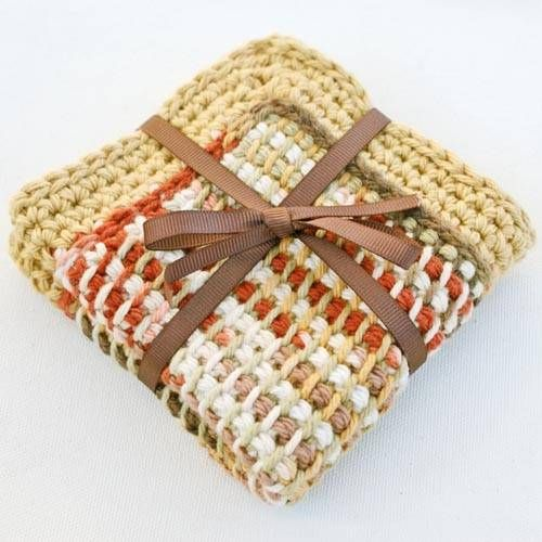 Crochet Gorgeous Kitchen Dishcloths With These Free Patterns ...
