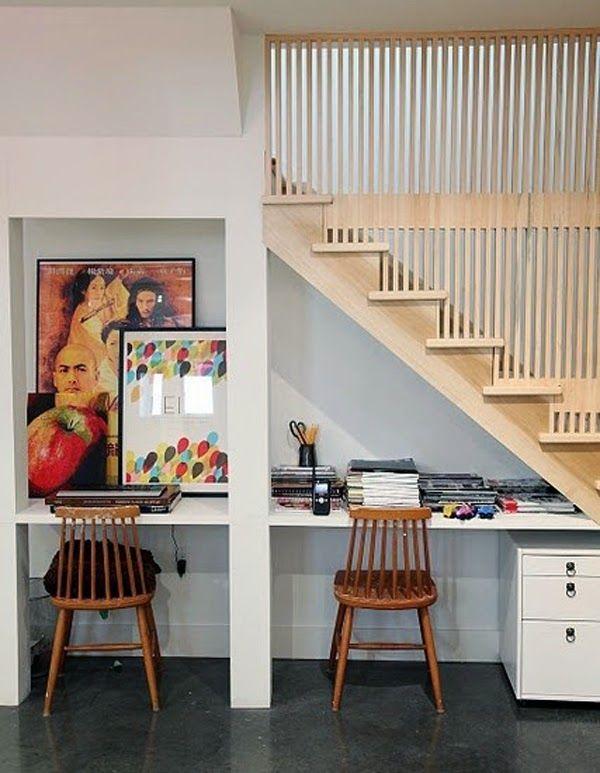 Muebles para Almacenamiento debajo de las Escaleras | Ideas bajo ...