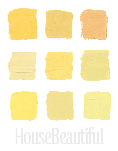 best yellow paint colorsThe Best The Best Yellow Paint Shades Picked By House Beautiful