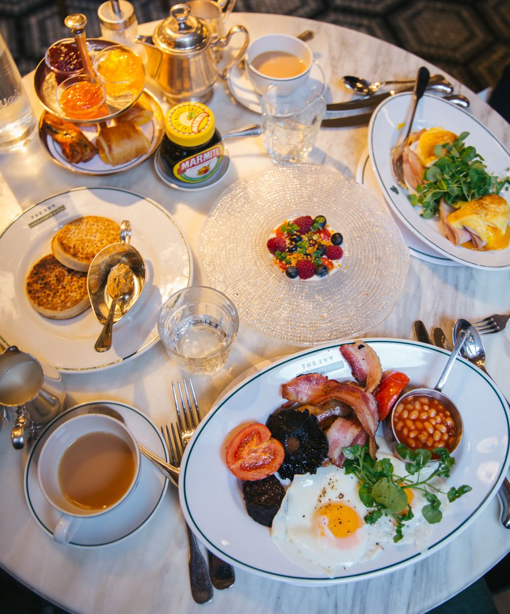 Brunch at The Ivy, Covent Garden