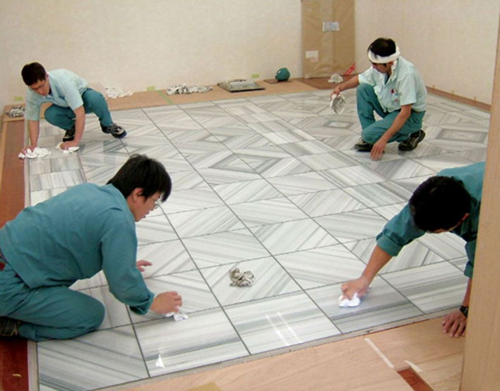 Mink Marble Floor Installation Floors Pinterest Marble