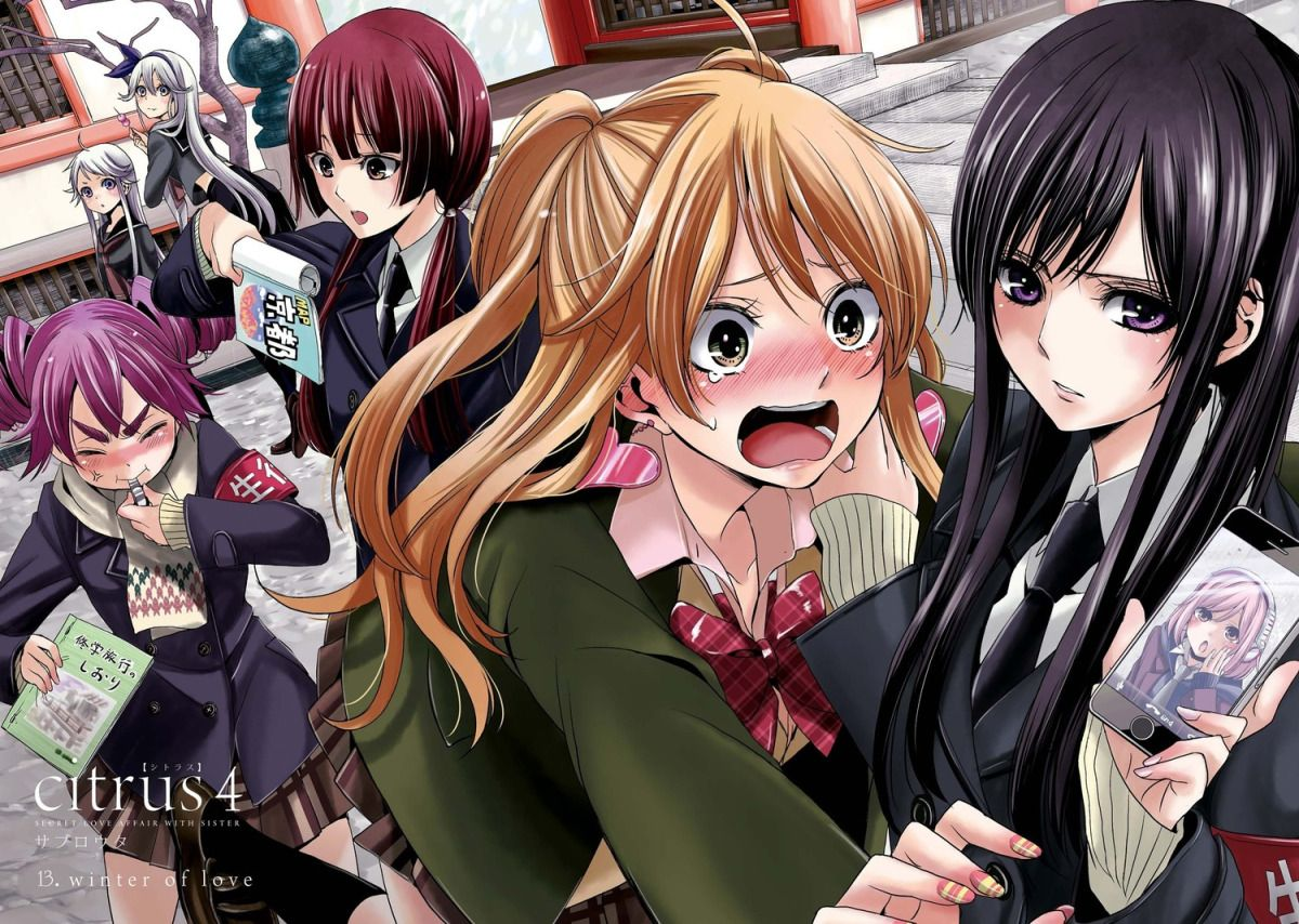 Citrus Manga Review Citrus Manga Anime Yuri Anime
