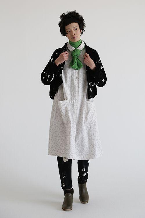 Mina Perhonen, matching jacket and pants, clever