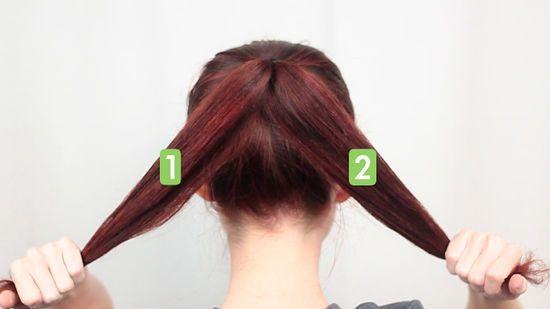 How to Make a Top Knot Bun