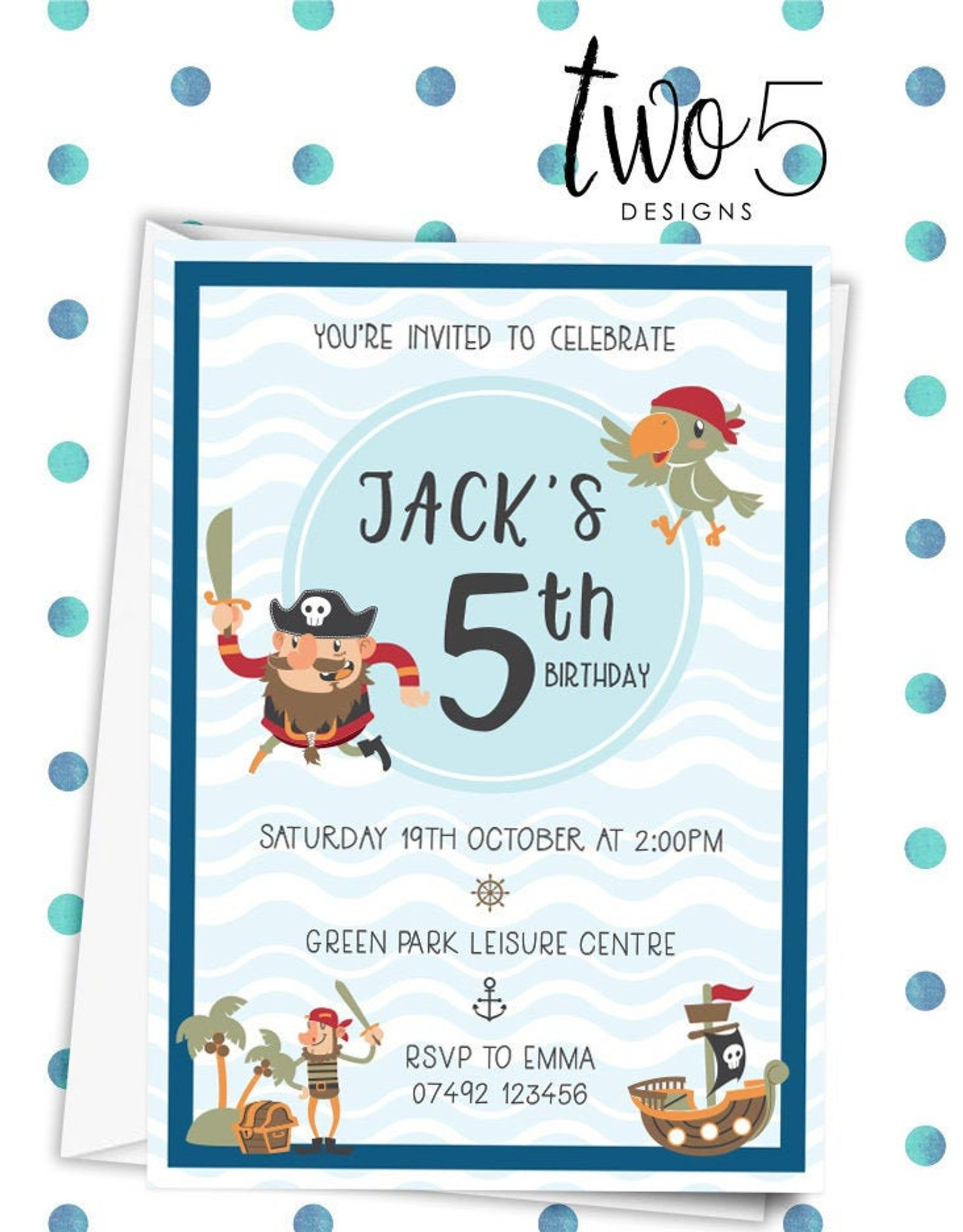 personalised birthday party invites boy