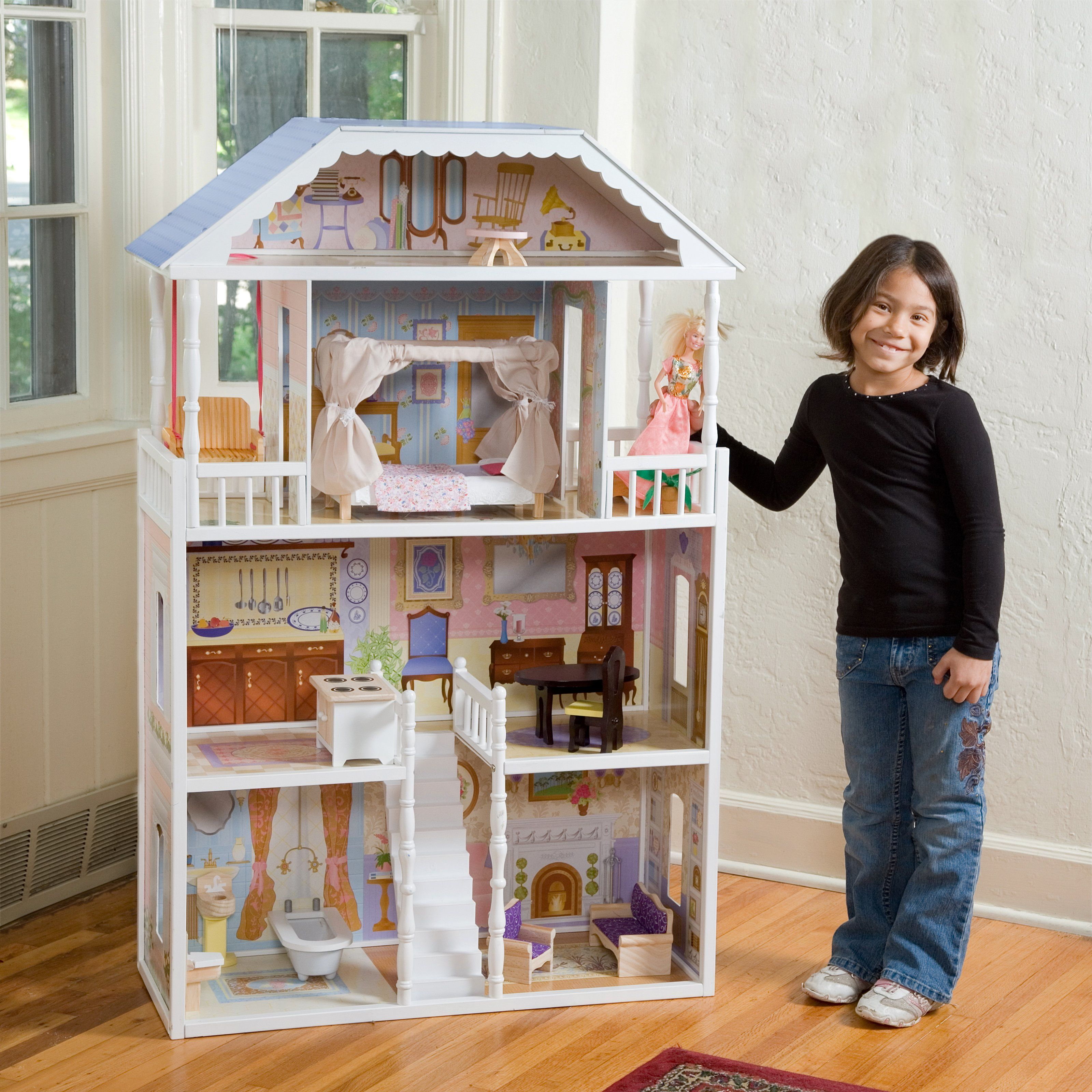 Dollhouse - Dollhouse Is A Toy Home, Made In Miniature