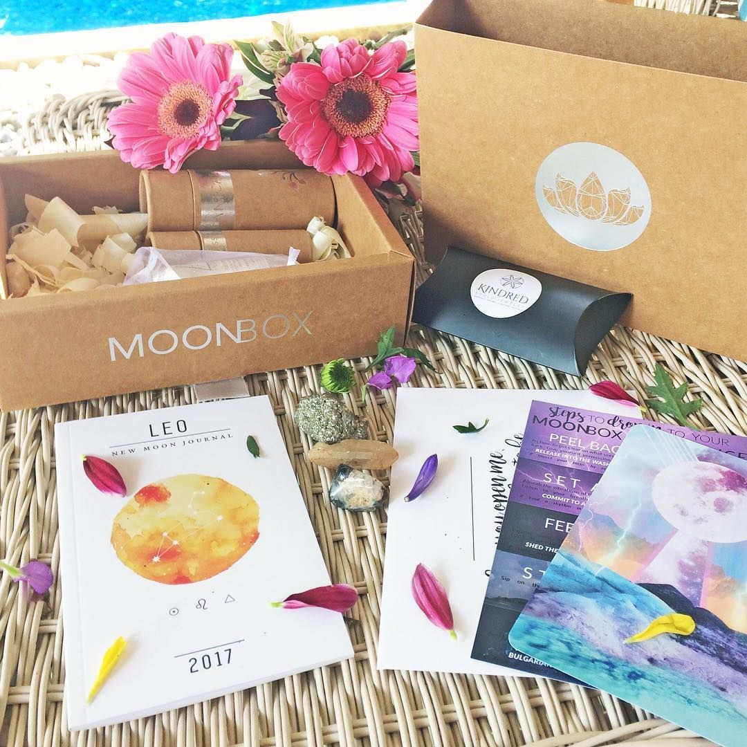 MOONBOX Monthly Subscription Box from GAIA COLLECTIVE ✨