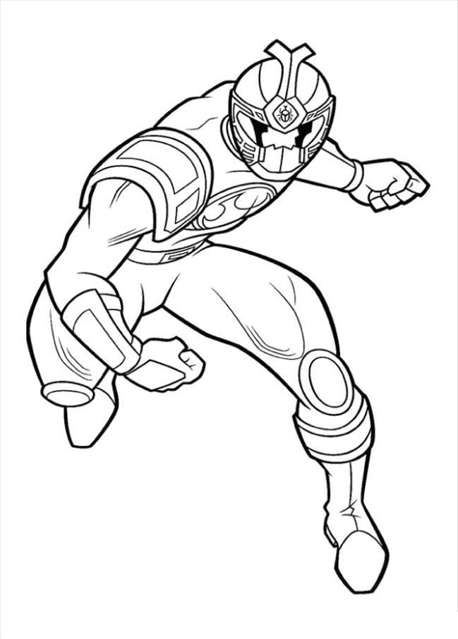 awesome Red Power Ranger Coloring Pages | Colouring Pages ...