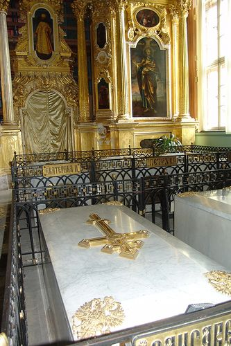 Grave of Catherine The Great