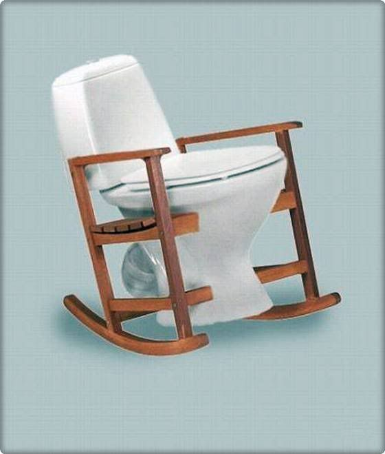 All The Comfort And Less Effort On Straining With Images Rocking Chair Chair Unusual Design