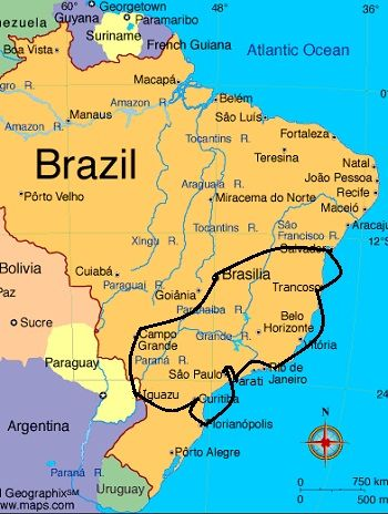 Recommended Brazil Travel Itineraries