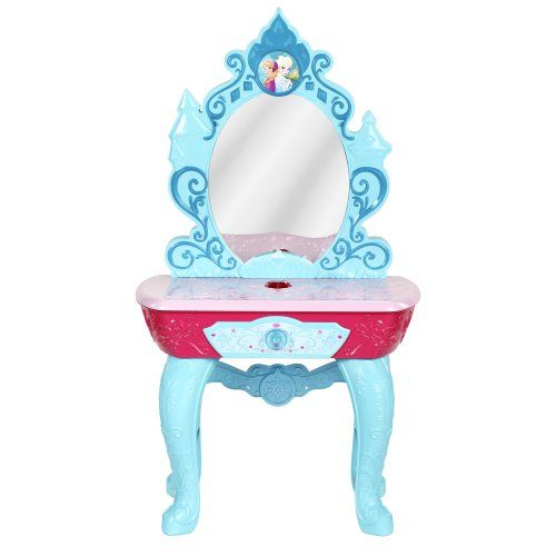 Disney Frozen Bedroom Furniture Ideas Lights And Sounds Play Vanity
