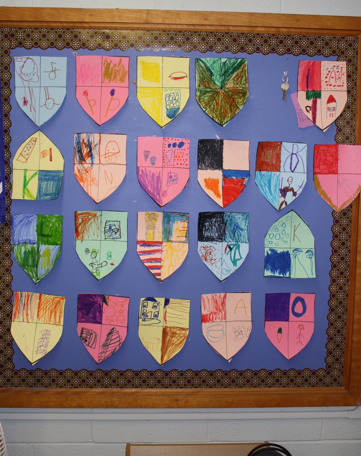Decorate Your Own Coat Of Arms
