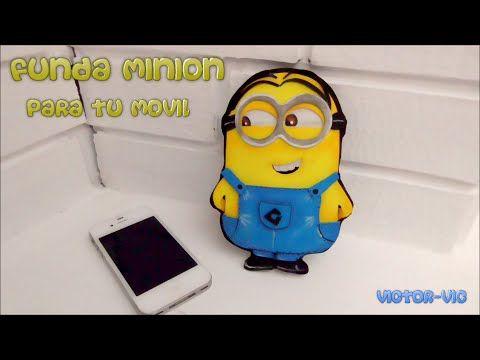 Funda Para Ipad O Tablet De Minion Foami O Goma Eva T
