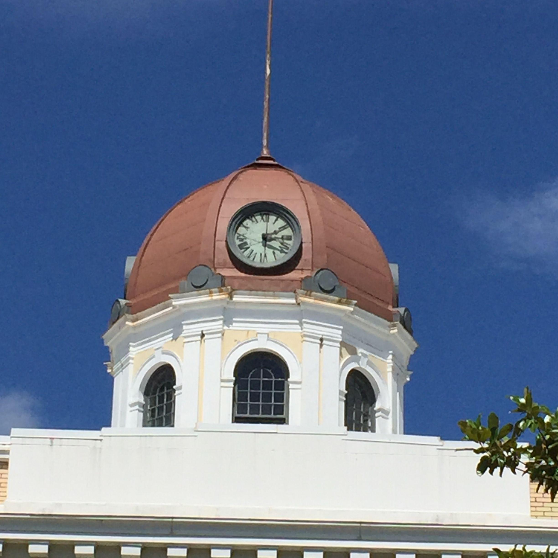 Cupola. Gadsden County Courthouse. Quincy, Florida. Paul