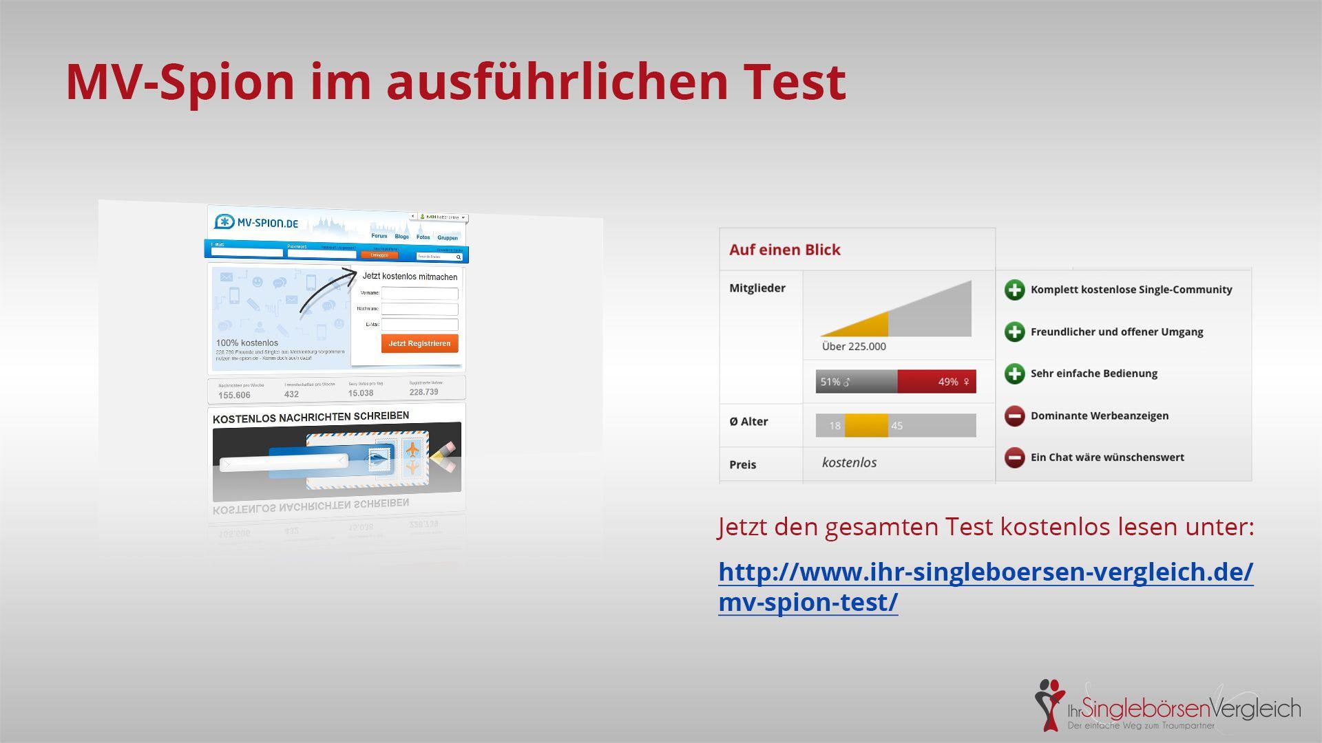 http://www.ihr-singleboersen-vergleich.de/mv-spion-test/ MV-Spion - eine solide und freundliche Single-Community für Singles aus Meck-Pomm.