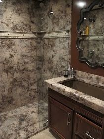 Cultured Marble Shower Google Search Marble Showers Cultured Marble Shower Custom Bathroom