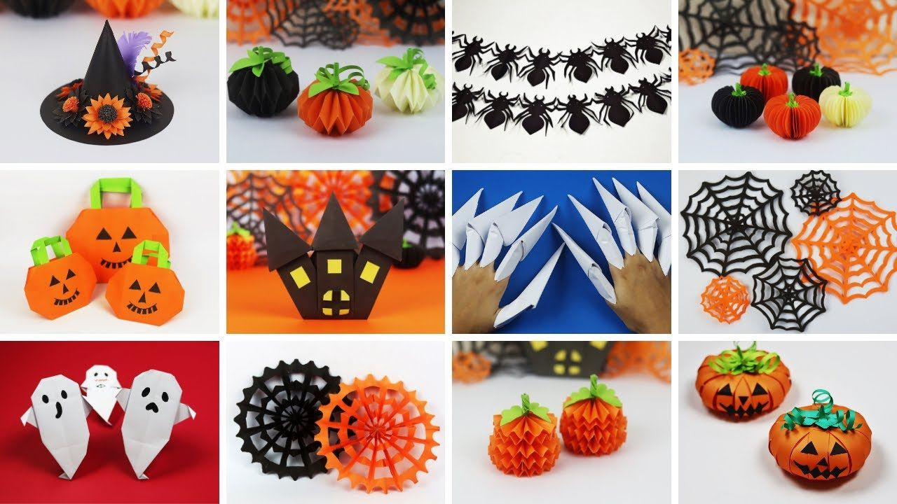 20 DIY Halloween Crafts 20   Halloween Decoration Ideas   DIY ...