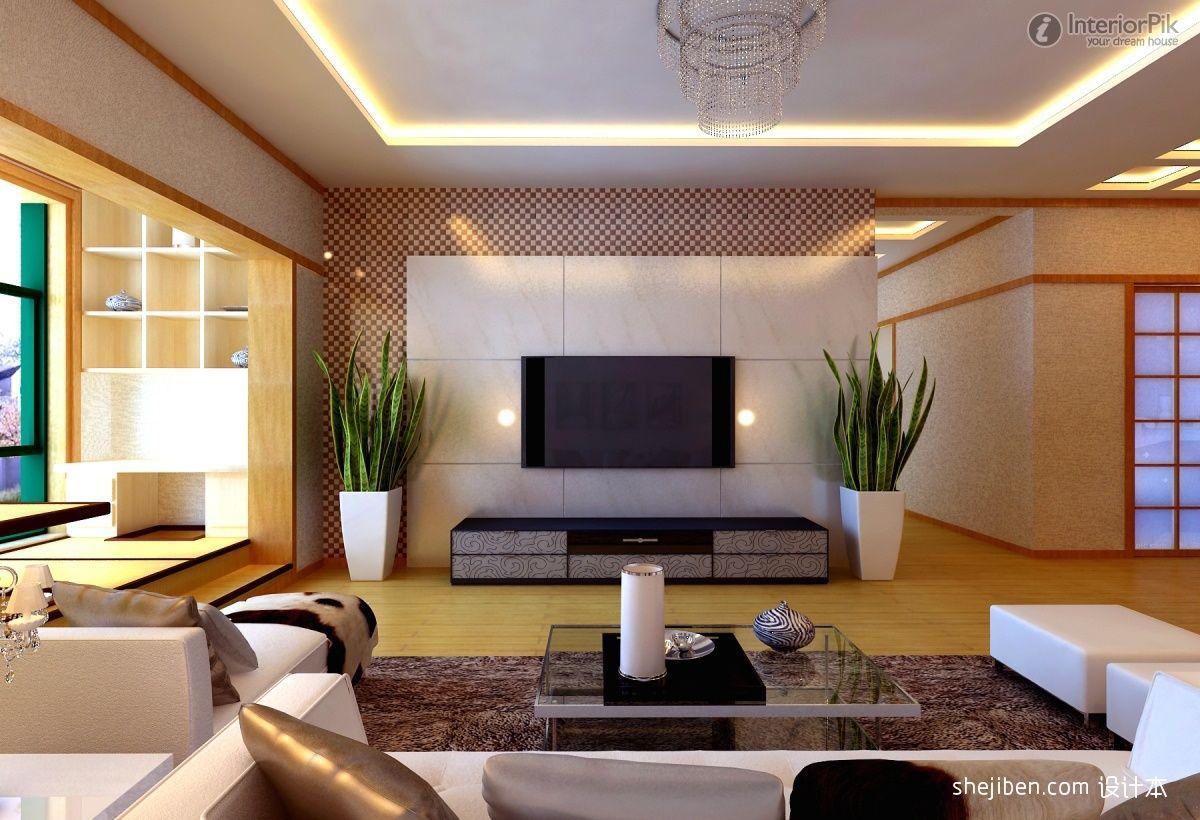 Astounding Tile Renderings Japanese Tv Background Wall