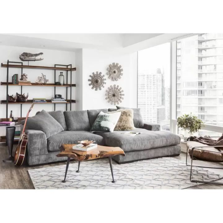 Watch This Plunge Sectional In 2020 Interior Design Living Room