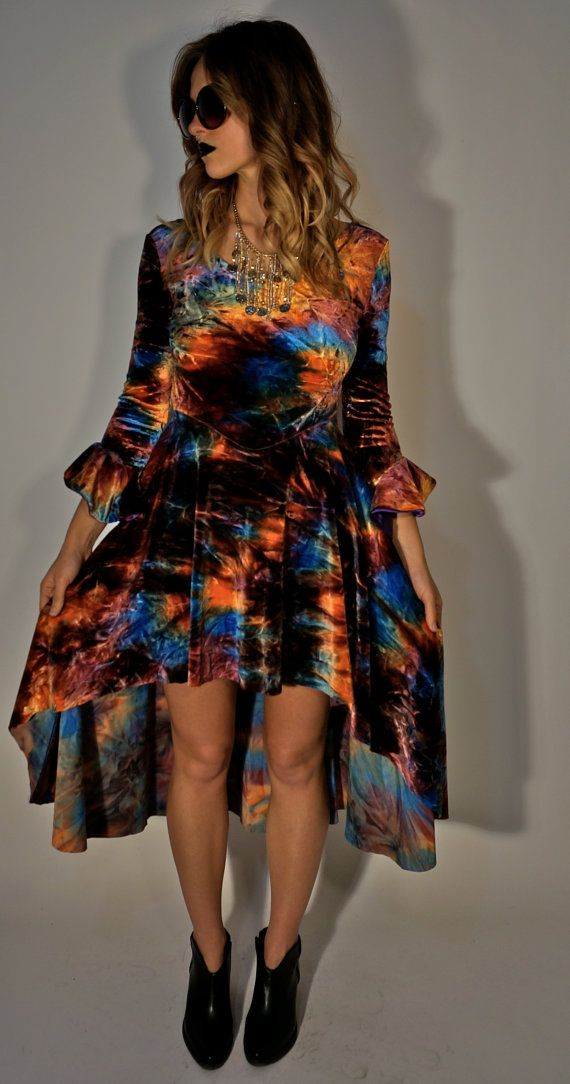 Velvet Acid Dress