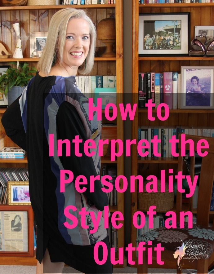How to interpret the personality style of an outfit example picasso top