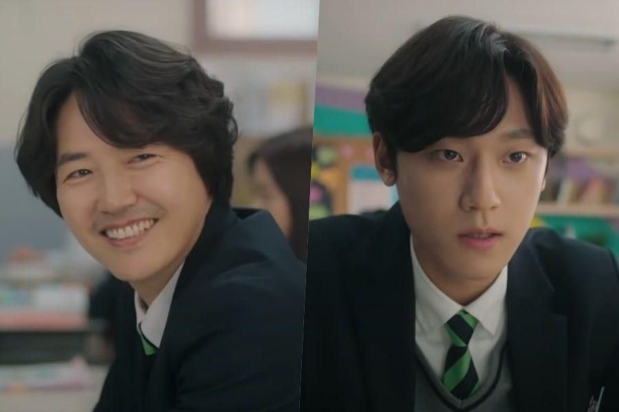 "Watch: Yoon Sang Hyun And Lee Do Hyun Struggle Adjusting To Their New Life In ""18 Again"" Teaser"
